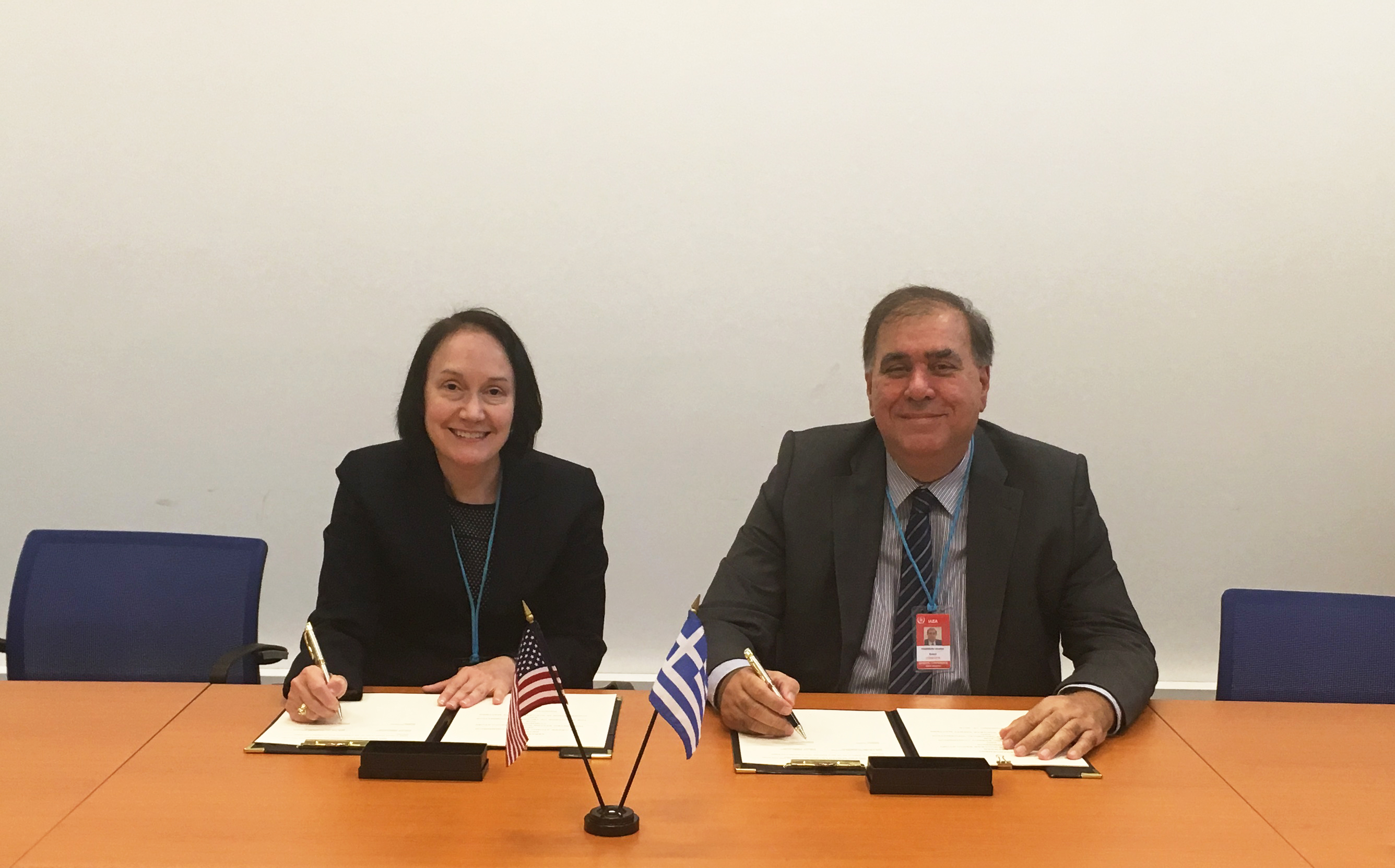 NRC and EEAE Chairmen sign the updated Arrangement