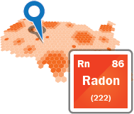 Radon concentrations